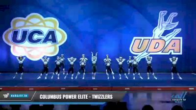 Columbus Power Elite - Twizzlers [2020 L2 Junior - Small - D2 Day 1] 2020 UCA Smoky Mountain Championship