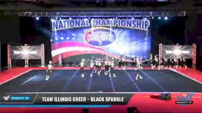 Team Illinois Cheer - Black Sparkle [2021 L4 - U19 Day 2] 2021 ACP: Midwest World Bid National Championship