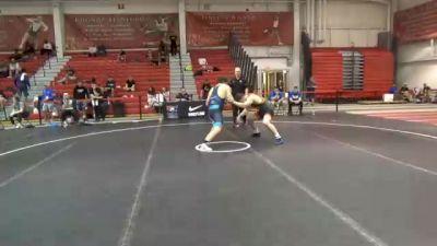 82 kg Quarterfinal - Tyler Cunningham, Nebraska Golden Eagles Wrestling Club vs Tommy Brackett, Tennessee
