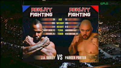 Parker Porter vs. J.A. Dudley Reality Fighting Replay