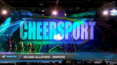 Island Allstars - 5nipers [2020 Senior XSmall 6 Division A Day 1] 2020 CHEERSPORT National Cheerleading Championship