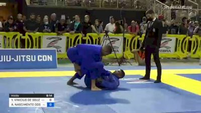 YAGO VINICIUS DE SOUZA vs ANDRE NASCIMENTO DOS SANTOS GOIS 2021 Pan Jiu-Jitsu IBJJF Championship