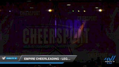 Empire Cheerleading - Legacy Black [2020 Senior Coed Small 3 D2 Day 2] 2020 CHEERSPORT National Cheerleading Championship