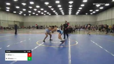 157 lbs Final - Taythan Silva, Valley Rtc vs Markell Rivera, Grindhouse Wrestling