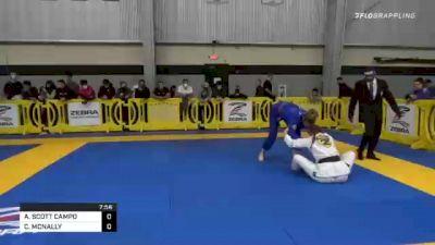 AMY SCOTT CAMPO vs CHLOE MCNALLY 2020 American National IBJJF Jiu-Jitsu Championship