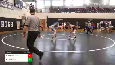 152 lbs 3rd Place - Malcolm Gerlach, Hanover vs Kayden Clark, Northern Lebanon