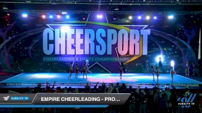 Empire Cheerleading - Prodigy Black [2020 Youth Small 2 D2 Division B Day 2] 2020 CHEERSPORT National Cheerleading Championship
