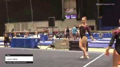 Lauren Miller - Floor - 2020 Buckeye Classic