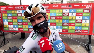 Max Schachmann Lost His Legs For The Vuelta a España