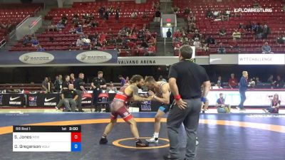 63 lbs Rr Rnd 1 - Sam Jones, New York Athletic Club vs Dylan Gregerson, Wolverine Wrestling Club