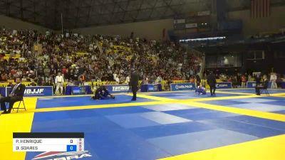 PEDRO HENRIQUE DE LIMA ELIAS vs DIMITRIUS SOARES SOUZA 2019 World Jiu-Jitsu IBJJF Championship