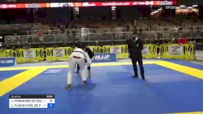 LUIS FERNANDO DE SOUZA CARVALHO vs LUIS FLÁVIO VITAL DE PAULA JUNIO 2021 Pan Jiu-Jitsu IBJJF Championship