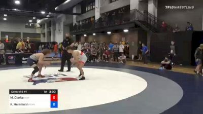 61 kg Consolation - Mason Clarke, New York City RTC vs Kenny Herrmann, Pennsylvania