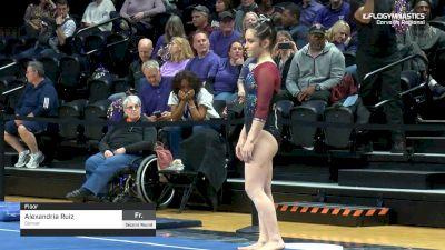 Alexandria Ruiz - Floor, Denver - 2019 NCAA Gymnastics Regional Championships - Oregon State