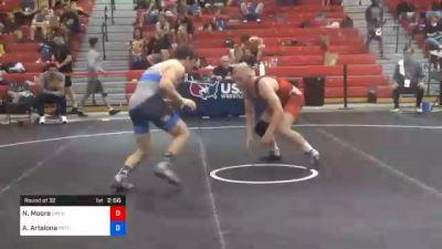 70 kg Prelims - Nathan Moore, Northern Colorado Wrestling Club vs Anthony Artalona, Pennsylvania RTC