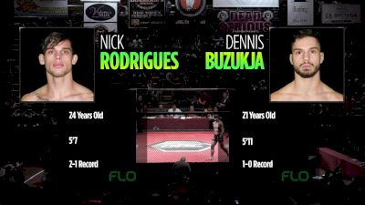 Nick Rodrigues vs. Dennis Buzukja - Ring of Combat 66 Replay