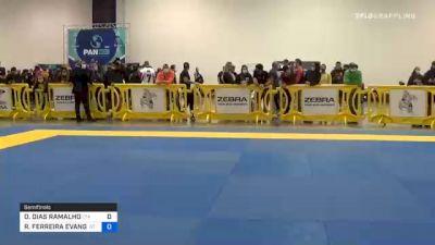 DIEGO DIAS RAMALHO vs RICARDO FERREIRA EVANGELISTA 2020 IBJJF Pan No-Gi Championship