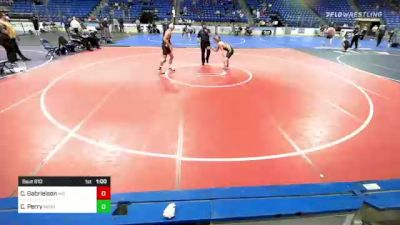 138 lbs Consolation - Clayton Gabrielson, Maryland vs Chris Perry, New England