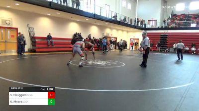 149 lbs Consolation - Sebas Swiggum, Minnesota vs Kollin Myers, Lock Haven