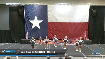 All-Star Revolution - MILITIA [2021 L1 Junior - Novice Day 1] 2021 ACP Power Dance Nationals & TX State Championship