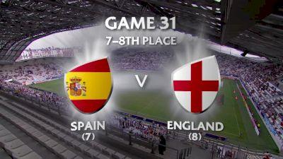 Spain vs England- HSBC World Women's 7s Series (Paris)