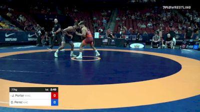 77 kg Quarters - Jesse Porter, New York Athletic Club vs Quentin Perez, Navy-Marine Corps Mat Club