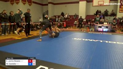 Edwin Junny Ocasio vs Marvin Castelle 1st ADCC North American Trials