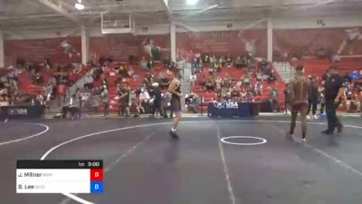 70 kg Quarterfinal - Jonathan Millner, Blue Ridge RTC vs Brayton Lee, Gopher Wrestling Club - RTC