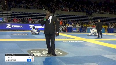 TANNER RICE vs JAMES PUOPOLO 2019 Pan Jiu-Jitsu IBJJF Championship