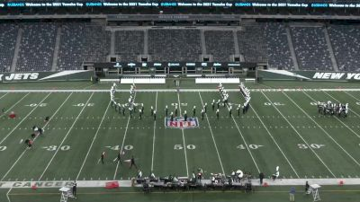 """New Milford H.S. """"Marching Band and Color Guard"""" at 2021 USBands Yamaha Cup"""
