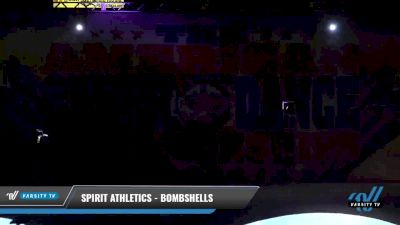 Spirit Athletics - Bombshells [2021 L3 Senior - D2 - Small Day 2] 2021 The American Celebration DI & DII