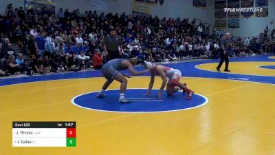 138 lbs Semifinal - Justin Rivera, Lake Highland Prep (FL) vs Isaac Salas, St. John Bosco