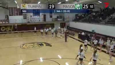 Replay: Turpin vs Mason | Oct 16 @ 11 AM