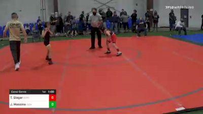 60 lbs Consolation - Tyler Gieger, Cordoba Trained vs James Messina, Cedar Grove
