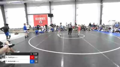 66 kg Final - Caleb Rathjen, Sebolt Wrestling Academy vs Tyler Antoniak, MWC Wrestling Academy