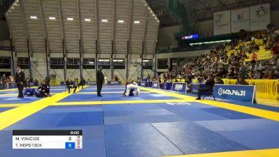 MARCUS VINICIUS RIBEIRO DE SIQUE vs TARIK HOPSTOCK 2019 World Jiu-Jitsu IBJJF Championship