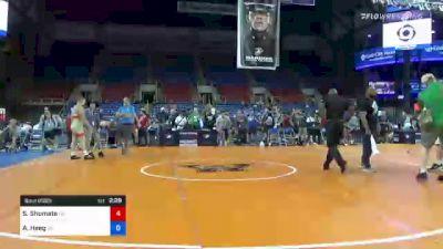 195 lbs Round Of 16 - Seth Shumate, Ohio vs Aj Heeg, Oklahoma