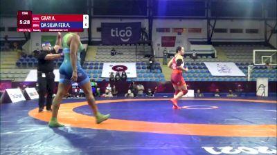 76 kg Rr Rnd 5 - Adeline Maria Gray, United States vs Aline Da Silva Ferreira, Brazil