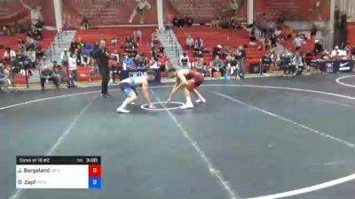 70 kg Consolation - Jakob Bergeland, Gopher Wrestling Club - RTC vs Doug Zapf, Pennsylvania RTC