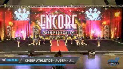 Cheer Athletics - Austin - JewelCats [2020 L3 Junior - Small Day 1] 2020 Encore Championships: Houston DI & DII