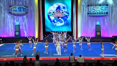 Flyers All Starz - Lightning (Canada) [2018 International Open Small Coed Level 6 Finals] The Cheerleading Worlds