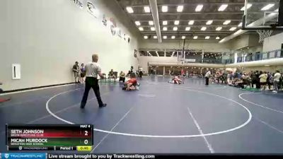 205 lbs Cons. Semi - Seth Johnson, Bruin Wrestling Club vs Micah Murdock, Brighton High School