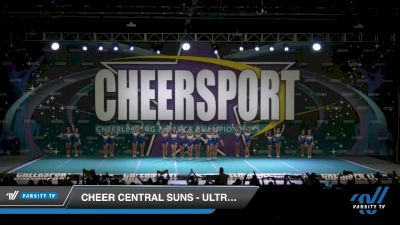 Cheer Central Suns - Ultraviolet [2020 Junior Small 3 Division A Day 2] 2020 CHEERSPORT National Cheerleading Championship