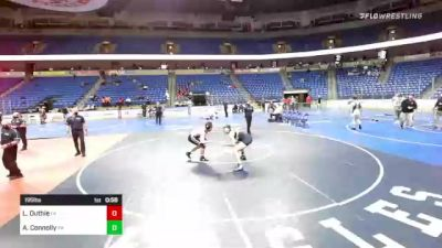 195 lbs 3rd Place - Luke Duthie, Pennsylvania vs Andrew Connolly, Pennsylvania