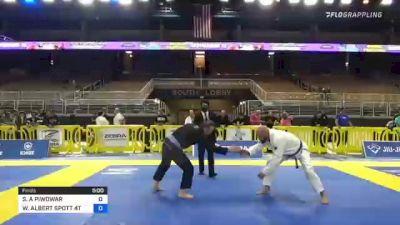 STEVEN A PIWOWAR vs WILLIAM ALBERT SPOTT 4TH 2021 Pan Jiu-Jitsu IBJJF Championship