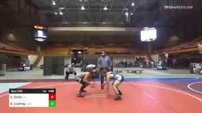126 lbs 2nd Place - Aj Smith, Legends Of Gold vs Blake Cushing, GI Grapplers