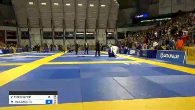 VICTOR FIGUEIREDO GENOVESI vs MICHAEL ALEXANDRE LANGHI 2019 World Jiu-Jitsu IBJJF Championship