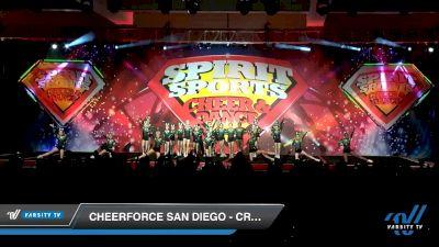 CheerForce San Diego - Craze [2020 L3 Youth Day 2] 2020 Spirit Sports: Duel In The Desert