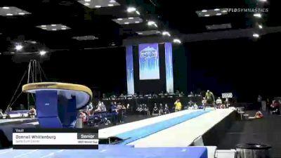 Donnell Whittenburg - Vault, Salto Gym Center - 2021 Winter Cup & Elite Team Cup