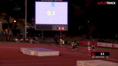 Men's 800m, Heat 1